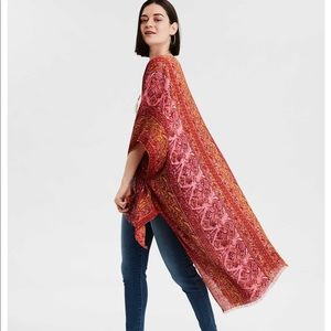 🌅AE Paisley Print Midi Kimono